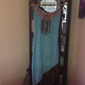 Tribal temptation Women's Native American costume